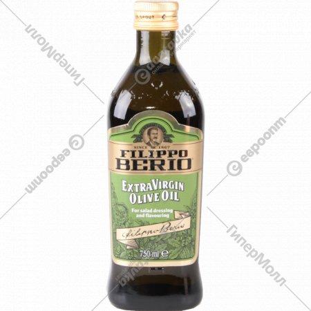 Масло оливковое «Filippo Berio» Extra Virgin нерафинированное, 750 мл.