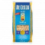 Макаронные изделия «De Cecco» Fusilli-34, 500 г.