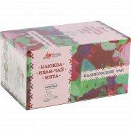 Фиточай «Калиновские чаи» клюква, иван-чай, мята, 20х2 г.