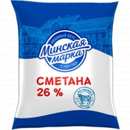 Сметана «Минская марка» 26%, 400 г.