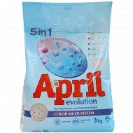 Средство моющее синтетическое «April» 5 в 1, color multi system, 3 кг.