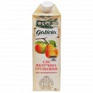 Сок «Galicia» яблочно-грушевый 1л.