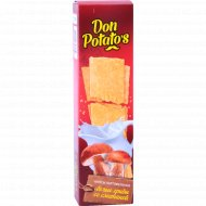Чипсы «Don Potato's» со вкусом белых грибов со сметаной 100 г.