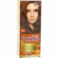 Краска для волос «Рябина» капучино 067.