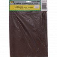 Бумага шлифовальная водостойкая, зерно 240, 10 листов.