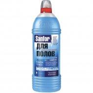 Средство для мытья полов «Sanfor» прохлада водопада, 1 л