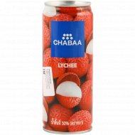 Напиток «Chabaa» с соком личи, 230 мл.