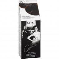 Краска-уход для волос «Estel» Celebrity, тон 5/7, шоколад