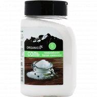Соль гималайская «Organico» S, белая каменная в солонке, 600 г.