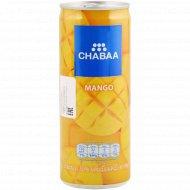 Напиток «Chabaa» с соком манго и мякотью, 230 мл.