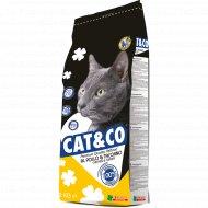 Корм для котов и кошек «Cat&Co» цыпленок с индейкой, 2000 г.
