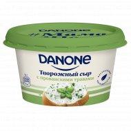 Сыр творожный «Danone» с прованскими трвами, 60%, 140 г
