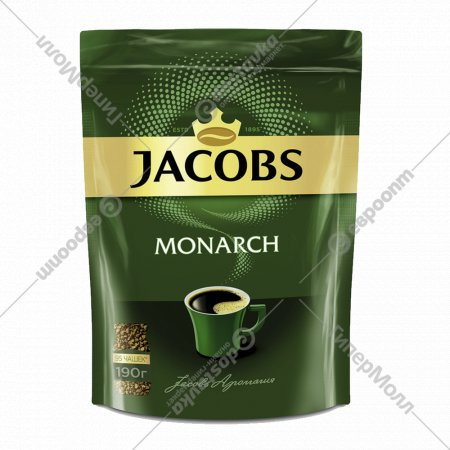 Кофе растворимый «Jacobs Monarch» 190 г.