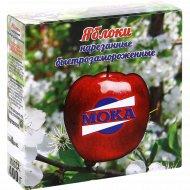 Яблоки нарезанные «Мока» быстрозамороженные, 400 г.