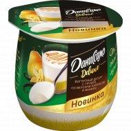 Десерт «Даниссимо» Deluxe, груша, карамель и ваниль, 4.2%, 160 г.