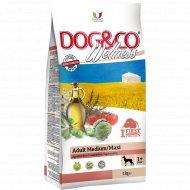 Корм для собак «Adragna» Dogwe, ягненок с рисом, 3 кг.