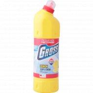 Средство моющее «Gross» лимон, для сантехники, 1000 мл.
