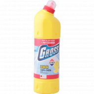 Средство моющее «Gross» лимон, для сантехники 1000 мл.