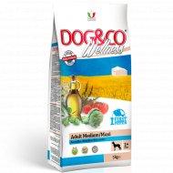 Корм для собак «Adragna» Dogwe, рыба с рисом, 3 кг.