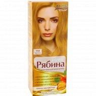 Краска для волос «Рябина» карамель 114.