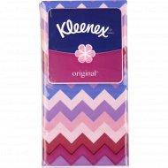 Салфетки бумажные «Kleenex Original» 21x20 см, 10 платочков.
