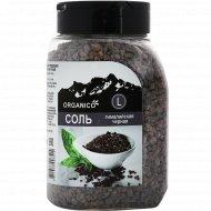 Соль гималайска черная каменная «Organico» L, в солонке, 600 г.