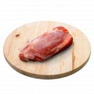 Мясо бедра индюшиное без кости, замороженное, 1 кг., фасовка 0.9-1.2 кг