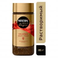 Кофе растворимый сублимированный «Nescafe gold origins» Colombia, 85 г.