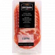 Шейка свиная «Corte Buona» сыровяленая, нарезка, 80 г.