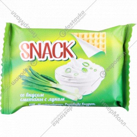 Вафли «Snack» сметана с луком 30 г.