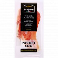 Окорок свиной «Corte Buona» сыровяленый, нарезка, 80 г.