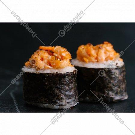 Суши «Ролл с опаленным лососем» 1/195 .