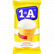Мороженое пломбир «1-й А» с ароматом ванилина, 70 г.