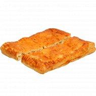 Пирог «Сытный» с начинкой из ветчины, замороженный, 500 г.