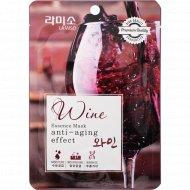 Маска для лица «La Miso» с экстрактом красного вина, 23 г