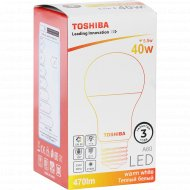 Лампа светодиодная «Toshiba» A 60-LAMP, 40W, 2700K, CRI80 ND.