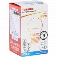 Лампа светодиодная «Toshiba» Golf, 40W, 4000K, CRI80, ND, E27.