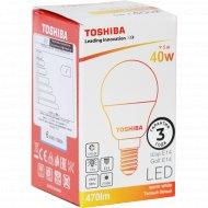 Лампа светодиодная «Toshiba» 40W, 2700K, CRI80, ND, E14.