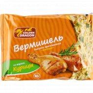 Вермишель бысторого приготовления «Golden Dragon» курица, 60 г.