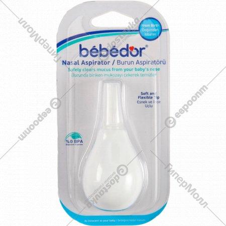 Аспиратор «Bebe D'or» с силиконовой насадкой.