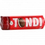Печенье затяжное «Tondi» сэндвич с шоколадно-сливочным вкусом, 182 г.