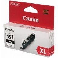 Картридж «Canon» CLI-451 XL BK 6472B001.
