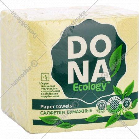 Салфетки бумажные «Dona» 100 штук