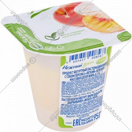Продукт йогуртный «Нежный» с соком персика 0.1%, 95 г.
