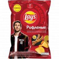 Картофельные чипсы «Lay's» Колбаски, горчица, 140 г