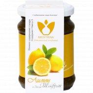 Ботанический конфитюр «Медитрина» лимон и дикий шафран, 300 г.
