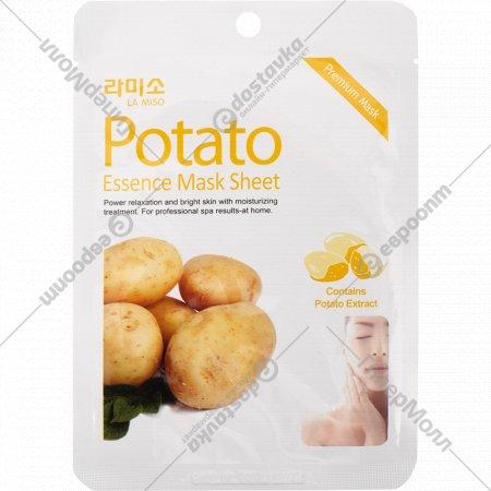 Маски-салфетки «La Miso» с экстрактом картофеля, 21 г.