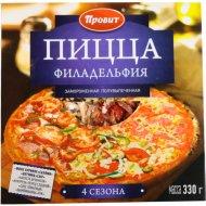 Пицца «Филадельфия 4 сезона» 330 г.