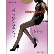 Колготки женские «Pierre Cardin» La Manche 40d, visone 4.