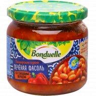 Фасоль печёная «Bonduelle» со сладким перцем, 360 г.